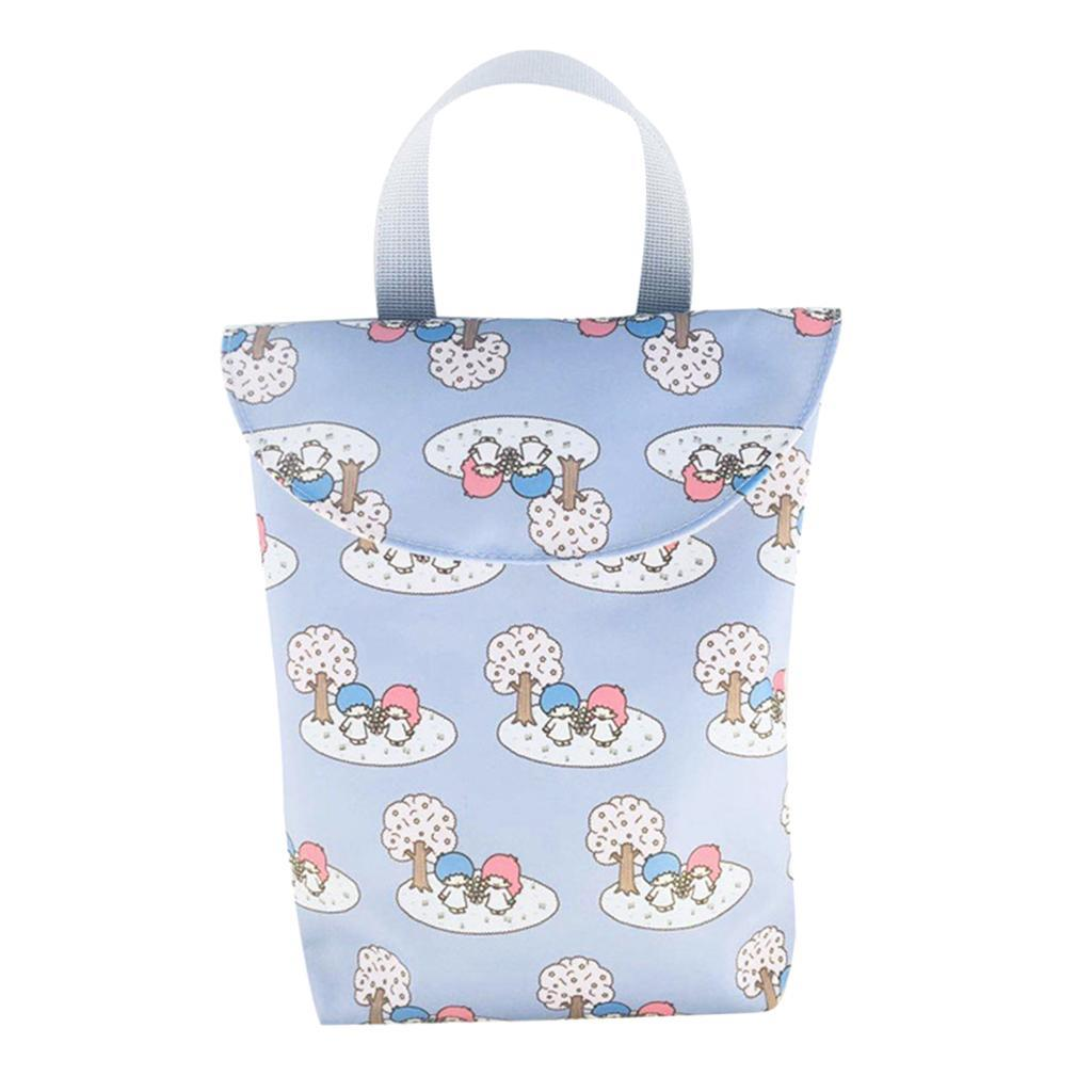 Baby-Diaper-Bag-Organizer-Fashion-Prints-Mummy-Storage-Bag-Outdoor-Reusable miniature 43