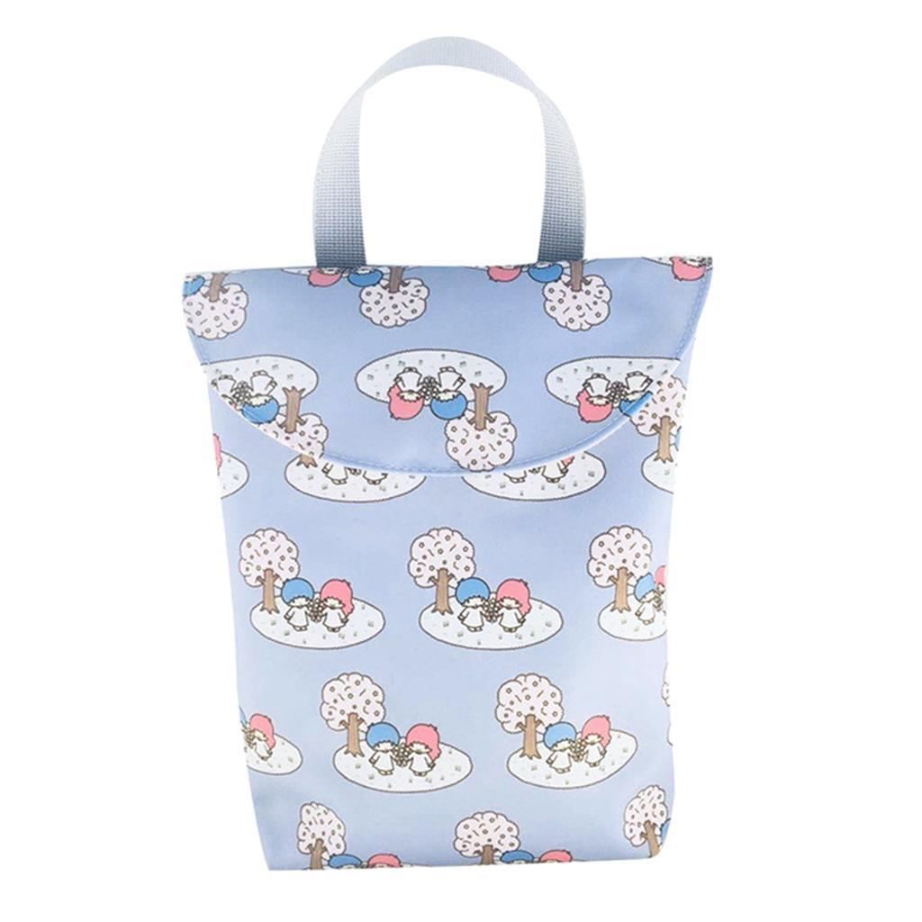 Baby-Diaper-Bag-Organizer-Fashion-Prints-Mummy-Storage-Bag-Outdoor-Reusable miniature 44