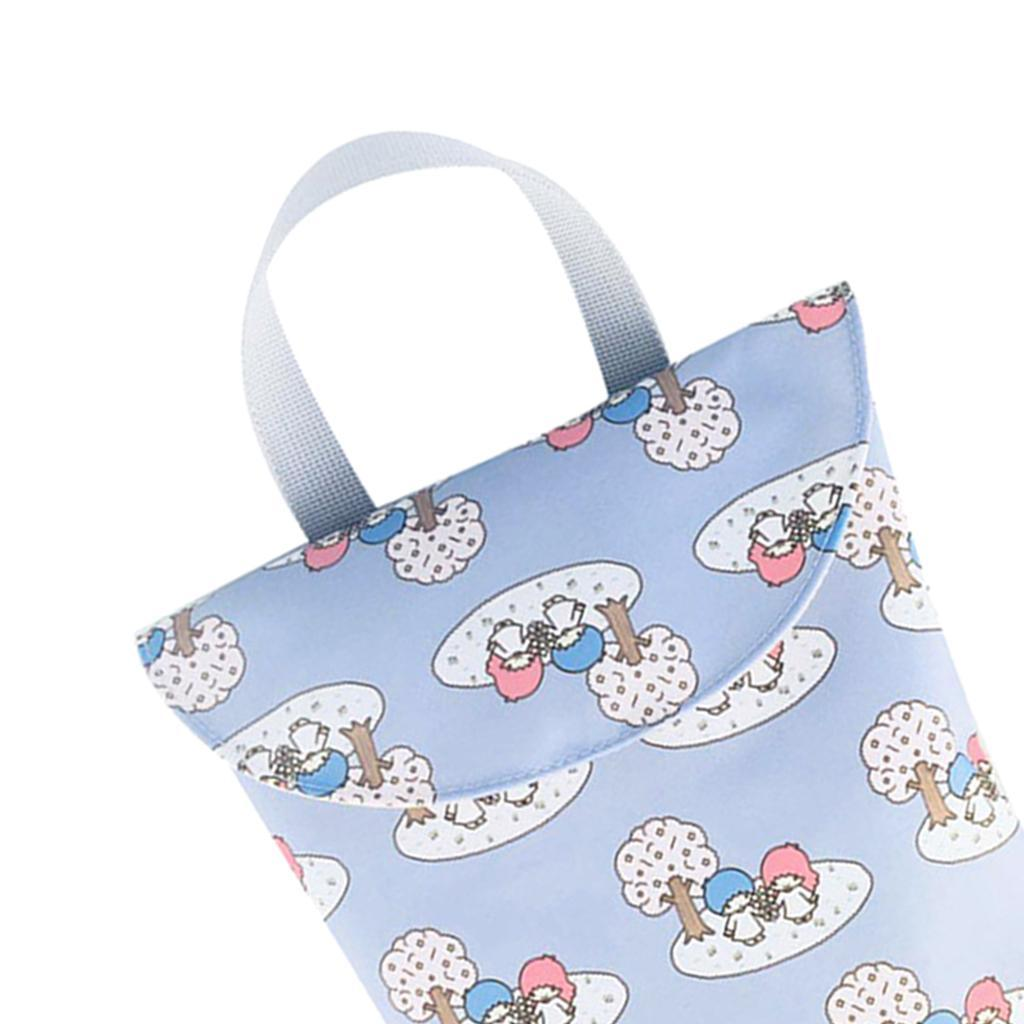 Baby-Diaper-Bag-Organizer-Fashion-Prints-Mummy-Storage-Bag-Outdoor-Reusable miniature 46