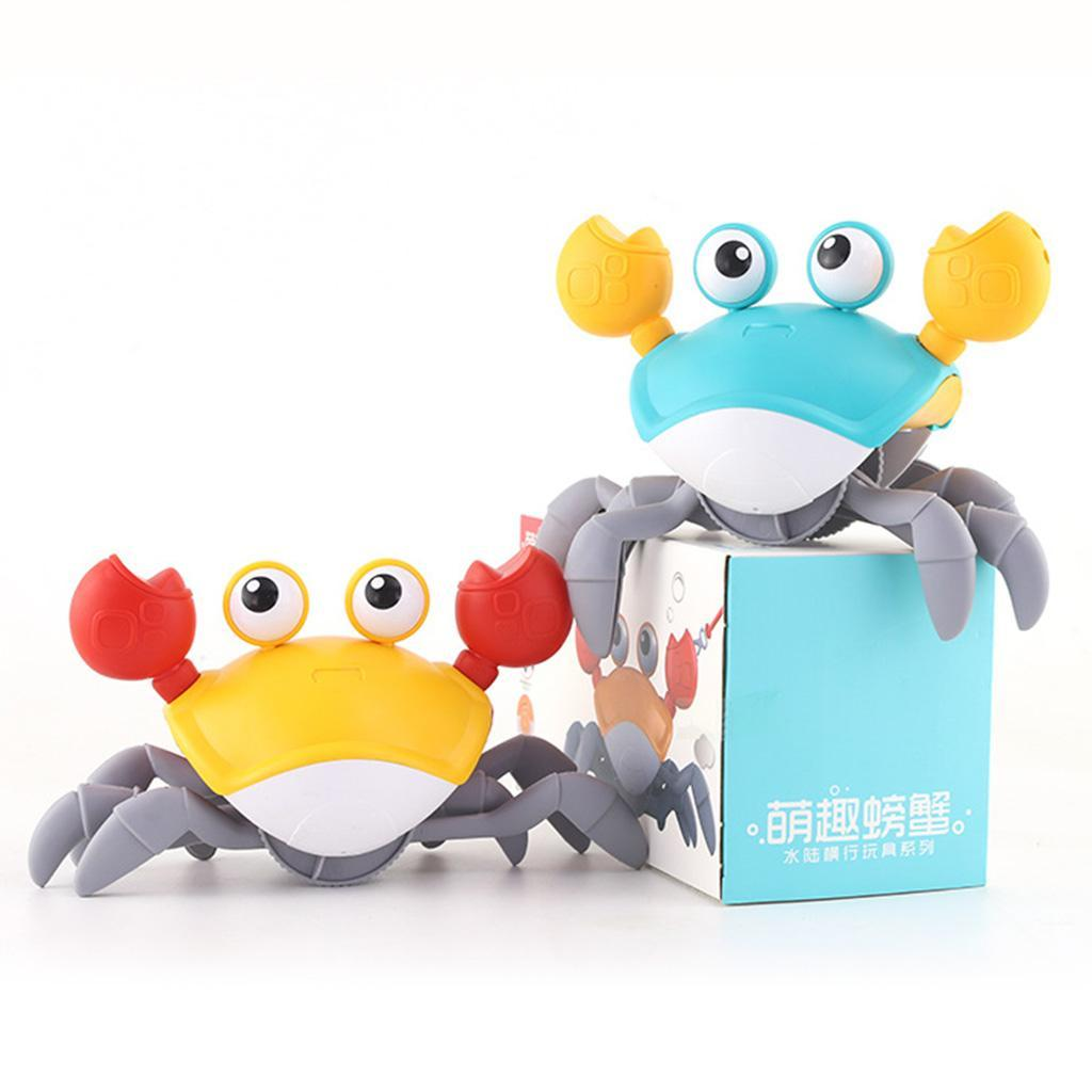 thumbnail 3 - Crab Bath Toy, Wind Up Crab Bath Tub Toy Floating Water Toys Clockwork Swimming