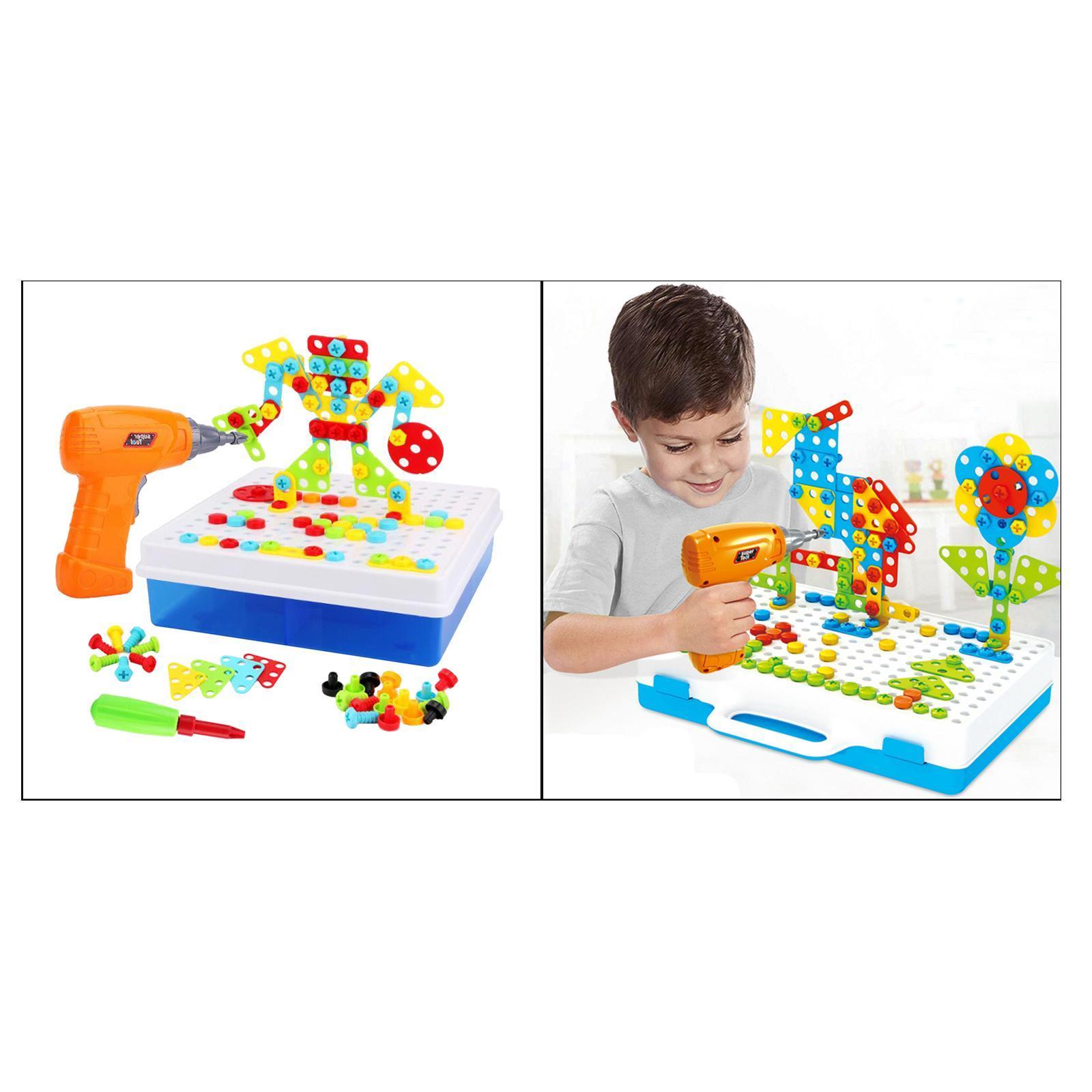 Creativo-Strumento-Educativo-Kit-FAI-DA-TE-Blocchi-di-Costruzione-Le-Capacita miniatura 19
