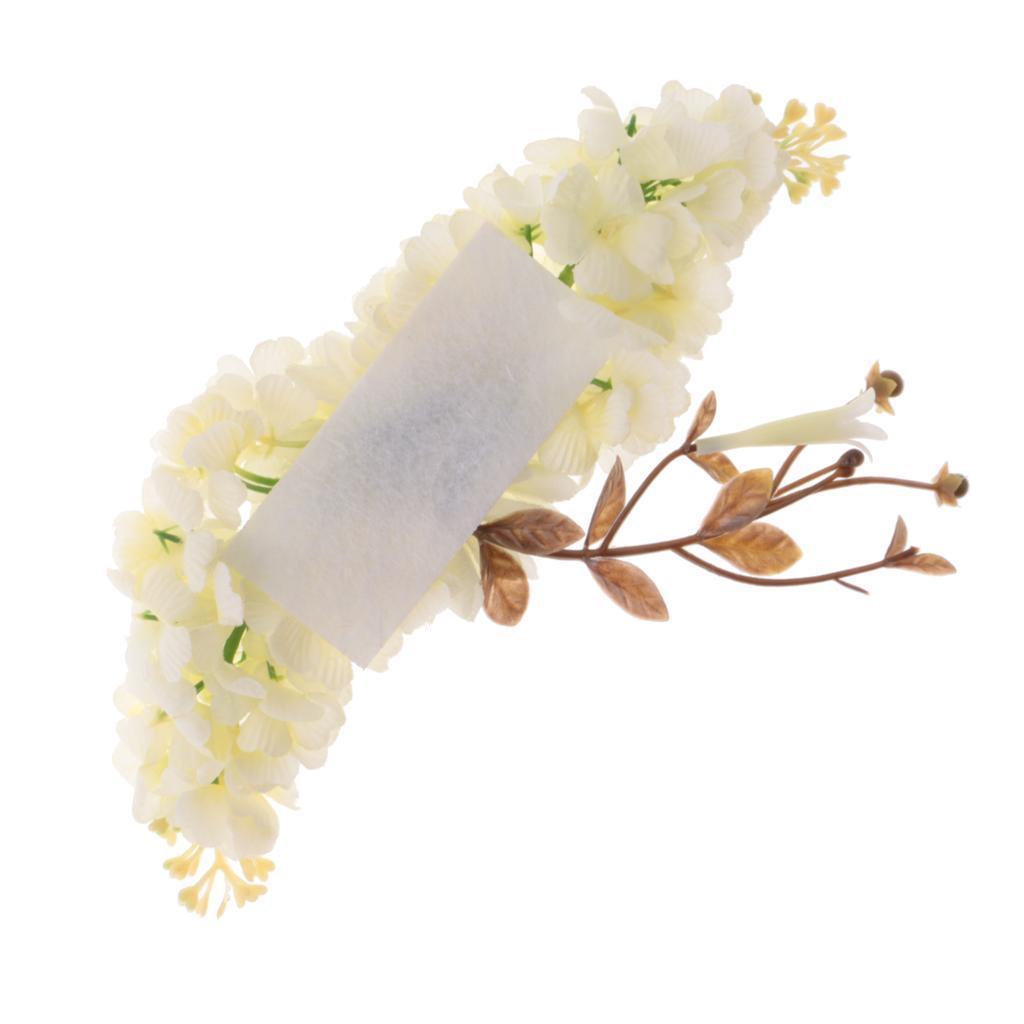 miniatura 3 - Il cappello di cerimonia nuziale floreale di seta del fiore della Rosa del