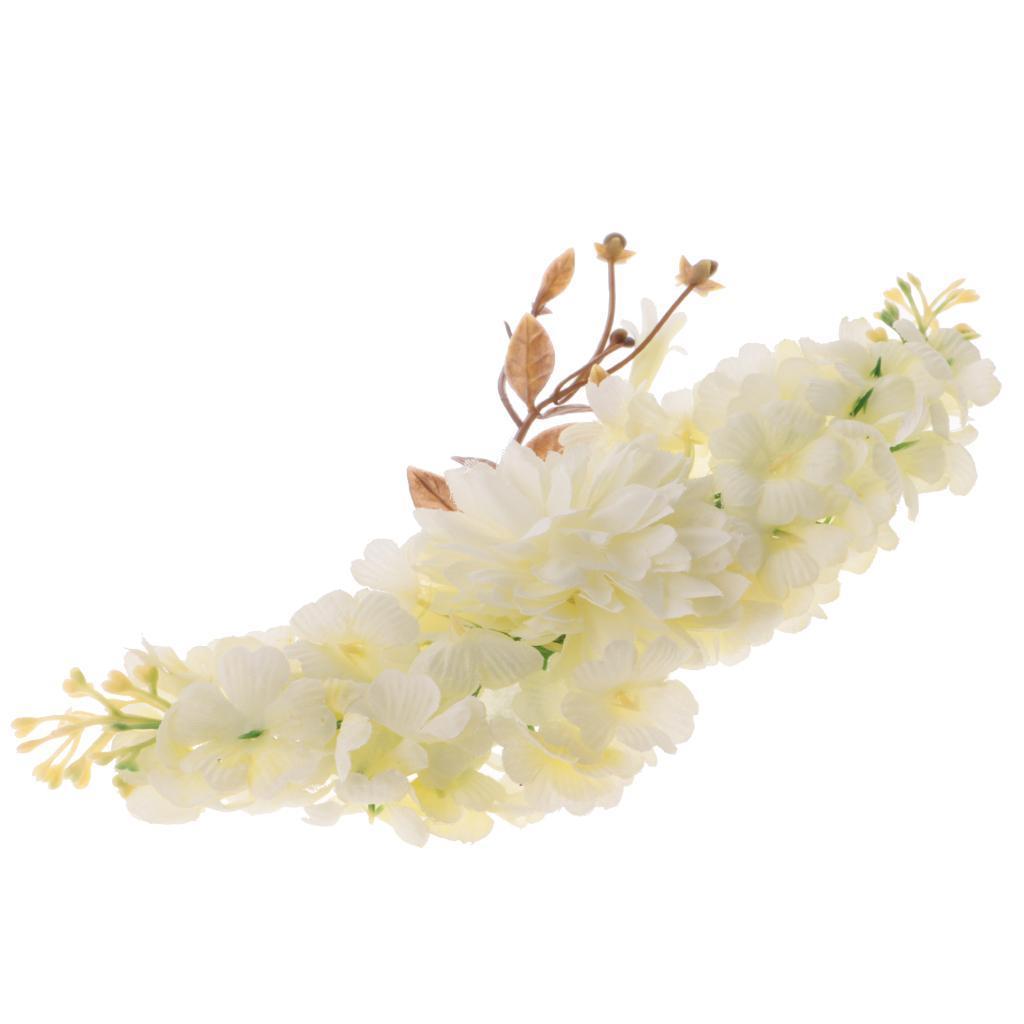 miniatura 4 - Il cappello di cerimonia nuziale floreale di seta del fiore della Rosa del