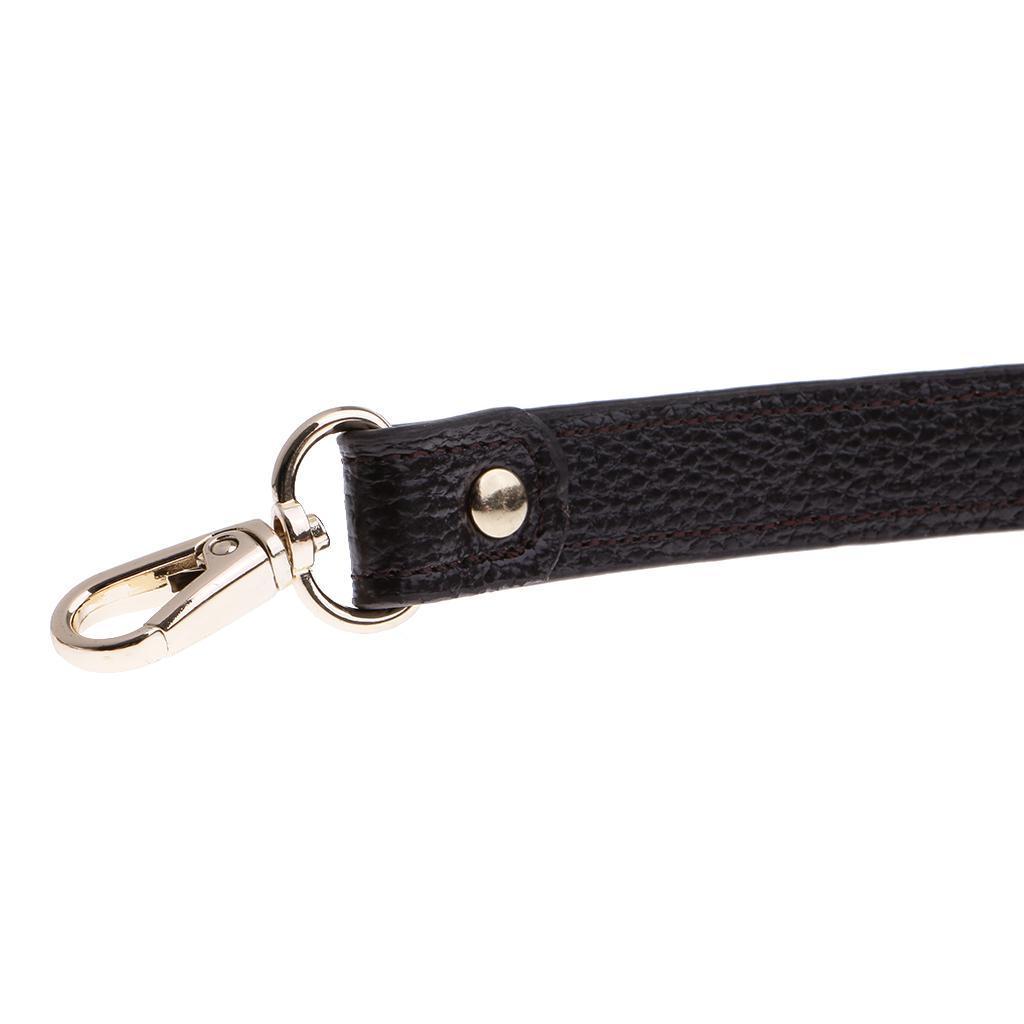 miniature 7 - Replacement Leather DIY Adjustable Long Shoulder Strap Crossbody Purse