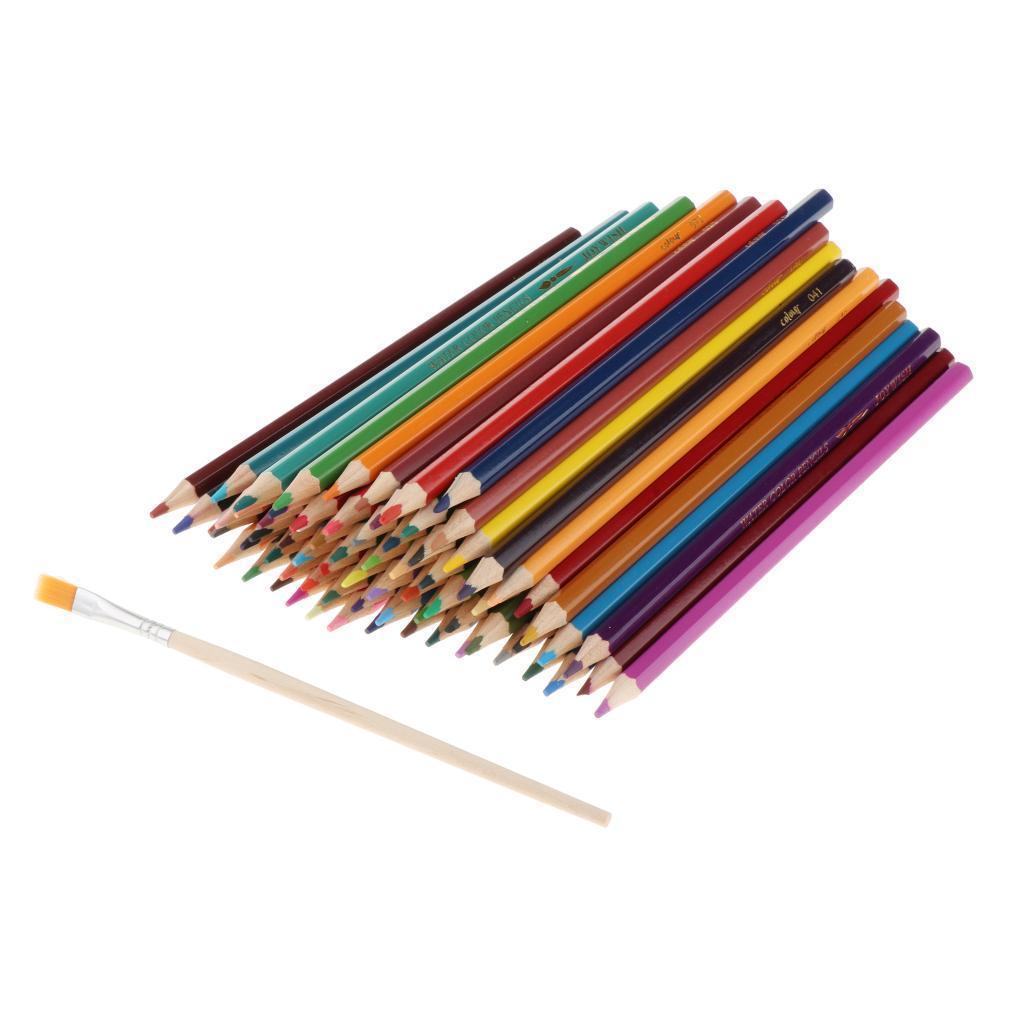 Colored Pencils Set Watercolor Pencils Artist Grade Water ...