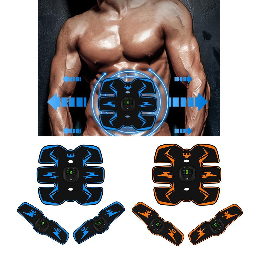 Smart Pack Belt Abs Stimulator Training Fitness Gear Muscle Toning Trainer US