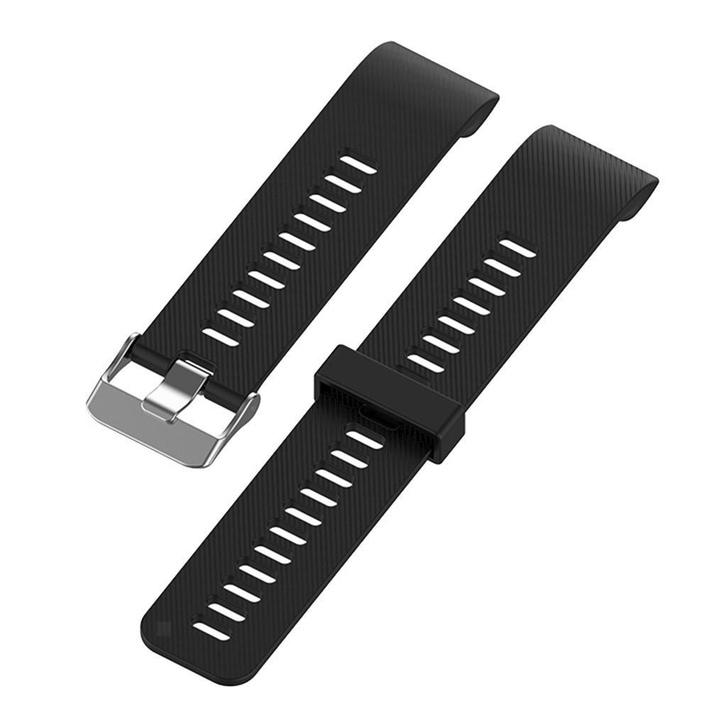 Unisex-Samrt-Watch-Strap-Bracelet-Silicone-Rubber-Band-for-Garmin-Forerunner thumbnail 3