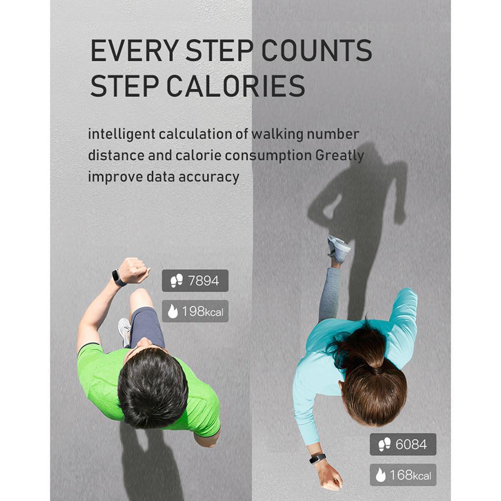 Indexbild 4 - Smart Watch Temperaturmesser Herzfrequenzmesser Blutdruck Fitness Tracker
