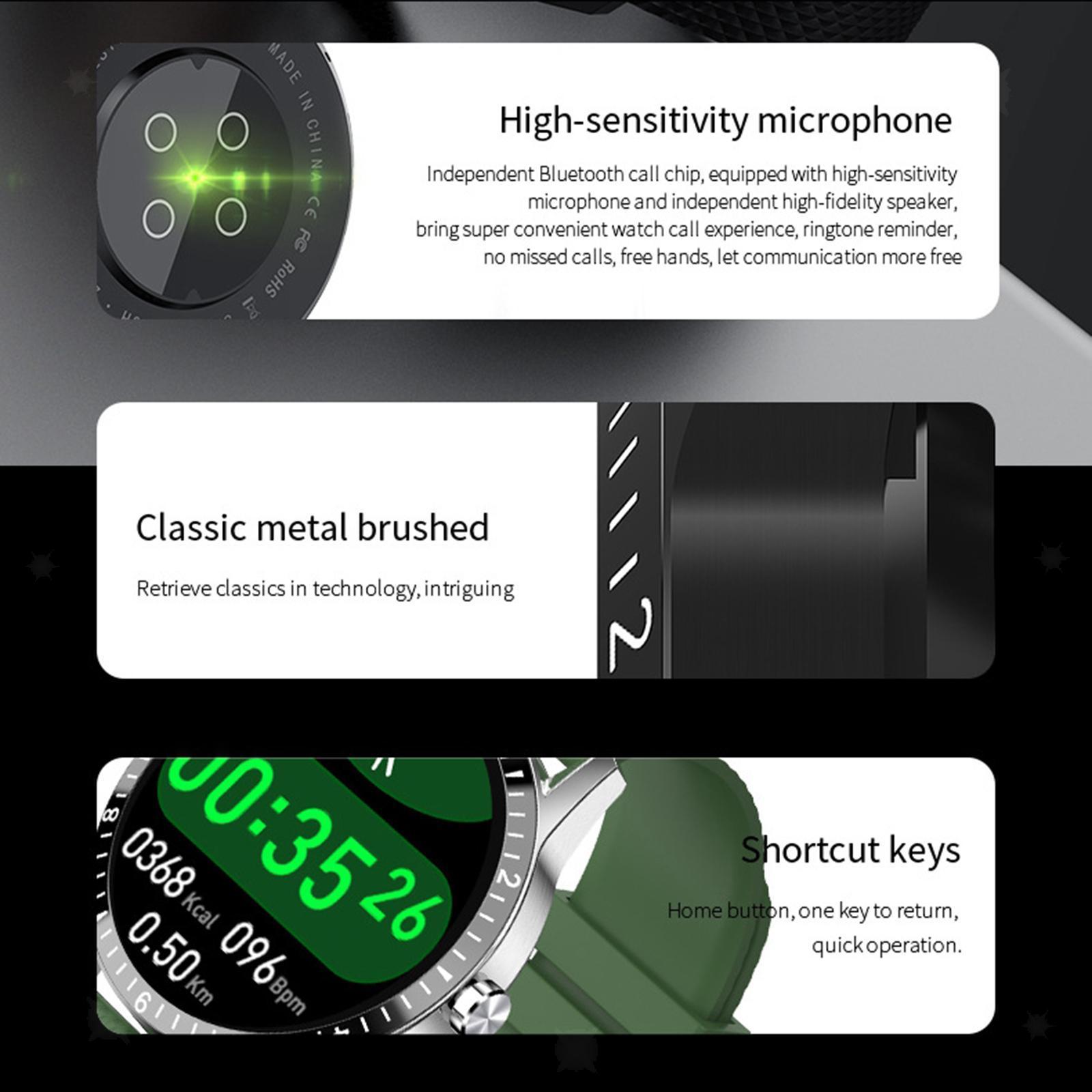 miniature 32 - D'affaires Sport Montre Intelligente Fitness Tracker Calorie Counter pour