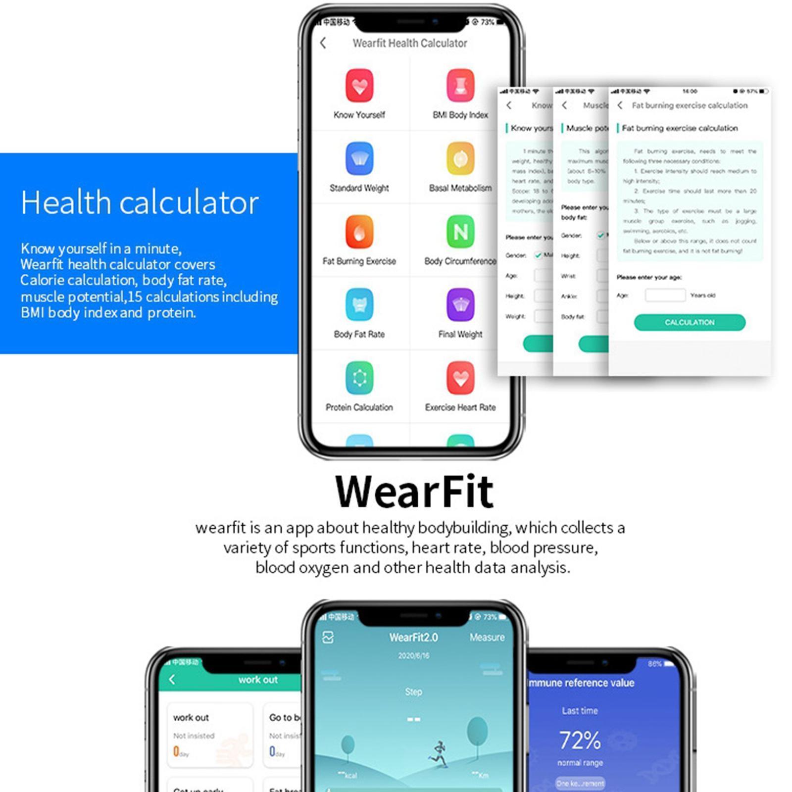 miniature 31 - D'affaires Sport Montre Intelligente Fitness Tracker Calorie Counter pour