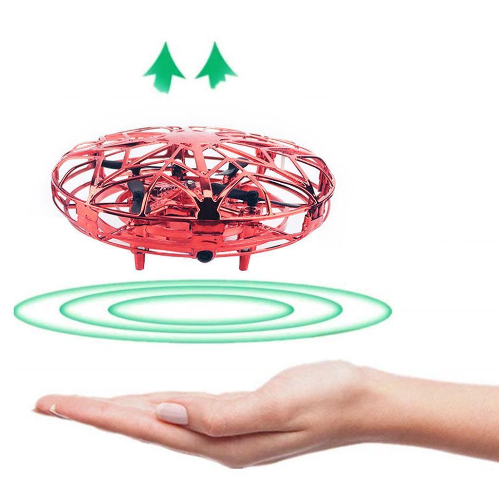 Hand-Controlled-Mini-Drone-UFO-Adults-Motion-Sensor-Flying-Toys-360-Rotating thumbnail 5