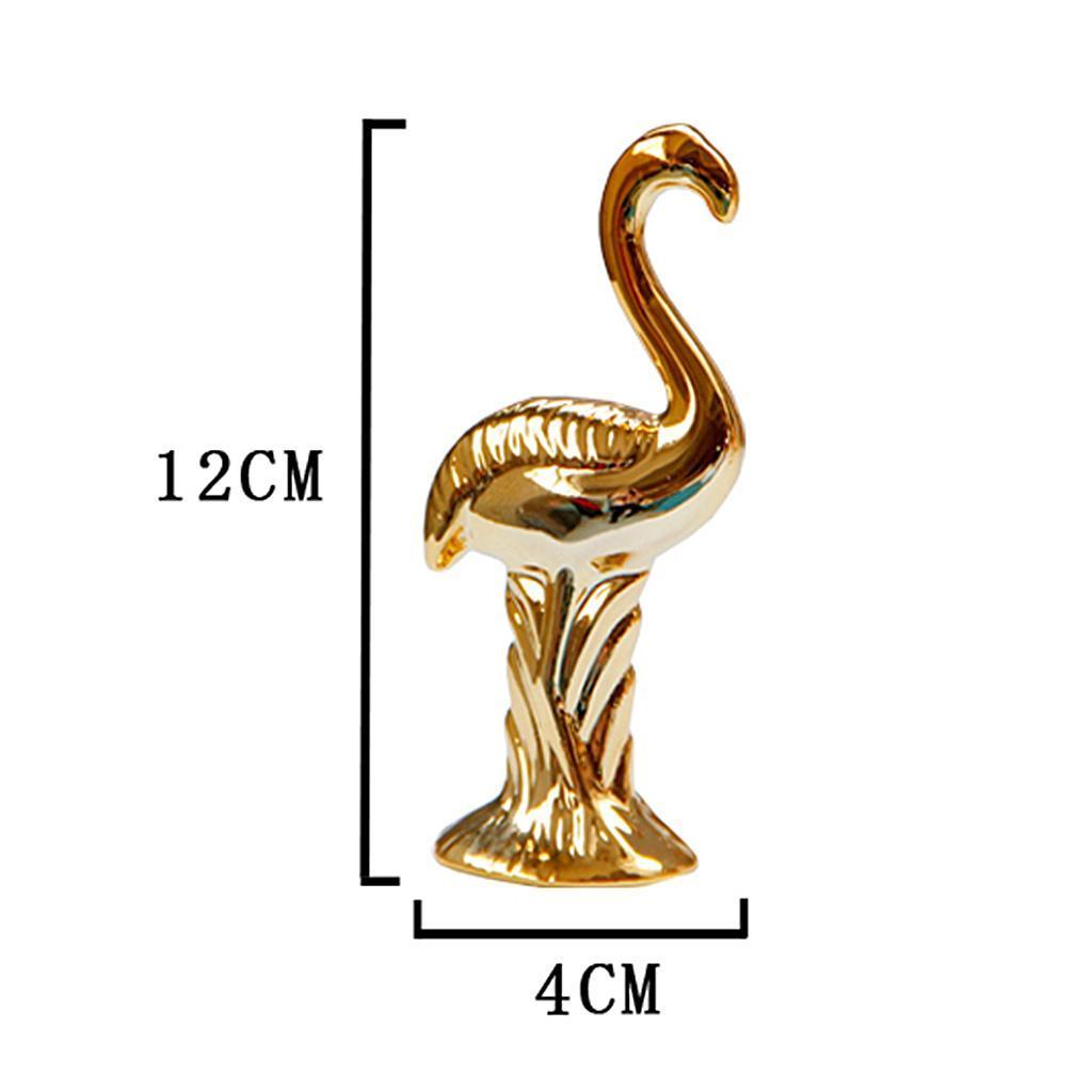Flamingo-Figurines-Miniatures-Ornement-Decoration-De-Bureau-Artisanat miniature 6