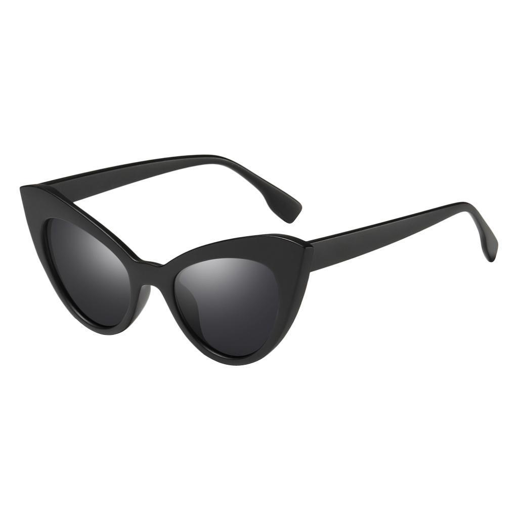 Frauen-Damen-Weinlese-Art-Katzenauge-Sonnenbrille-Plastikrahmen-UV400 Indexbild 6