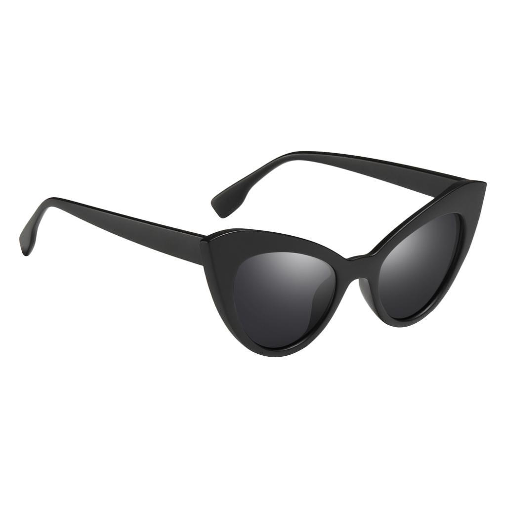 Frauen-Damen-Weinlese-Art-Katzenauge-Sonnenbrille-Plastikrahmen-UV400 Indexbild 7