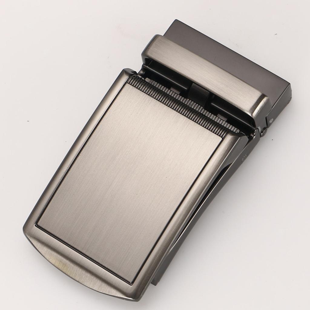 Remplacement-de-ceinture-en-cuir-a-cliquet-poli-par-metal-de-boucle-de miniature 11