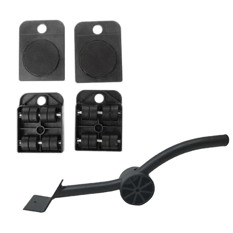 Set-Mobile-Di-Sollevamento-Per-Mobili-1-Asta-Di-Sollevamento-E-4-Rulli-Mobili miniatura 12