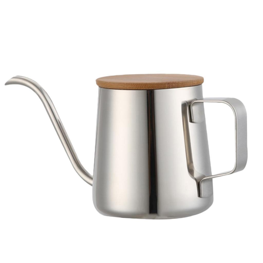 Gooseneck Hand Drip Coffee Maker Pot Brewer Stainless Steel