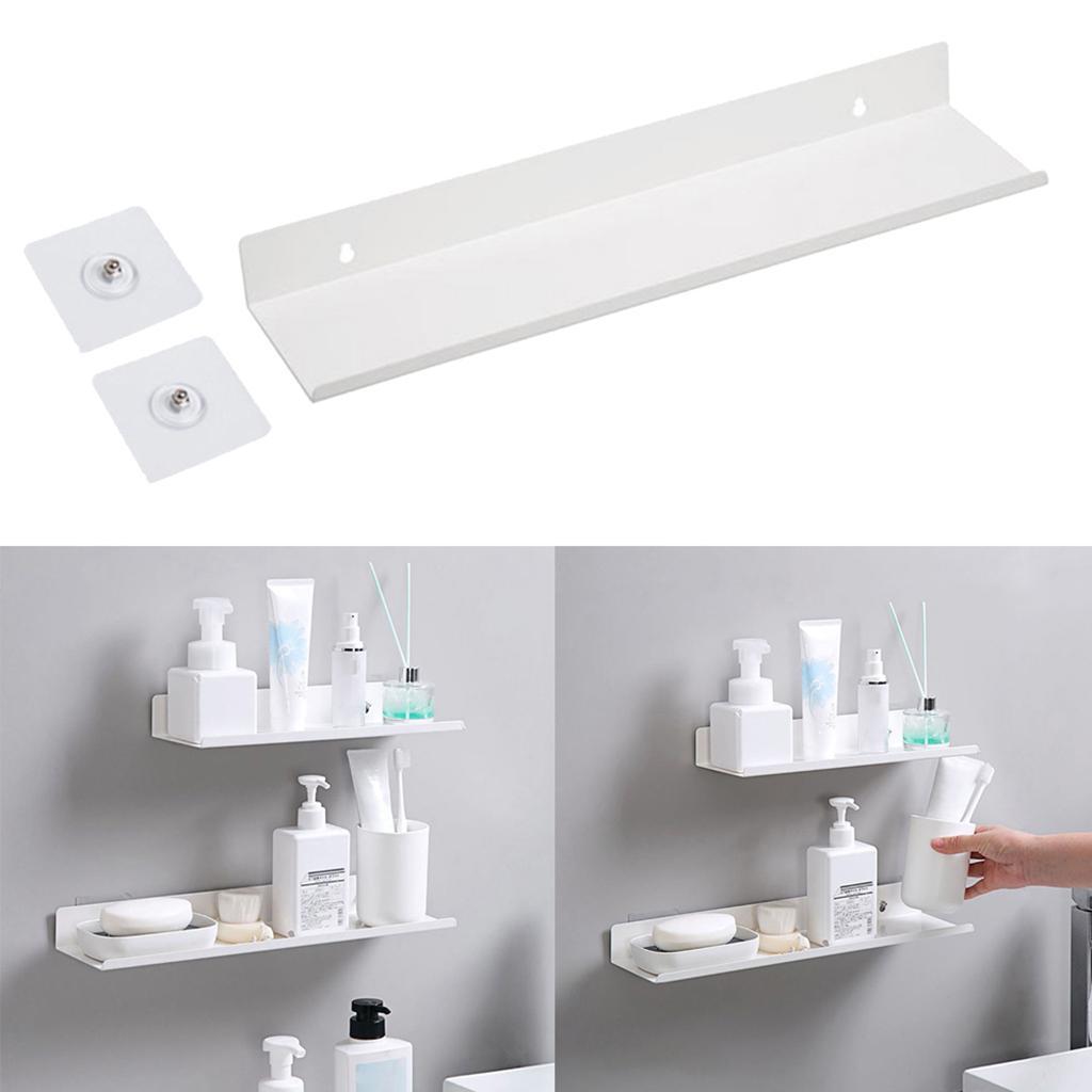 miniatura 69 - Durevole In Acciaio Al Carbonio Mensola Mobile Rack per la Casa