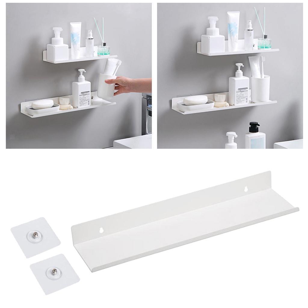miniatura 62 - Galleggiante A Parete Mensola Rack per la Casa Organizzatore Cucina Bagno