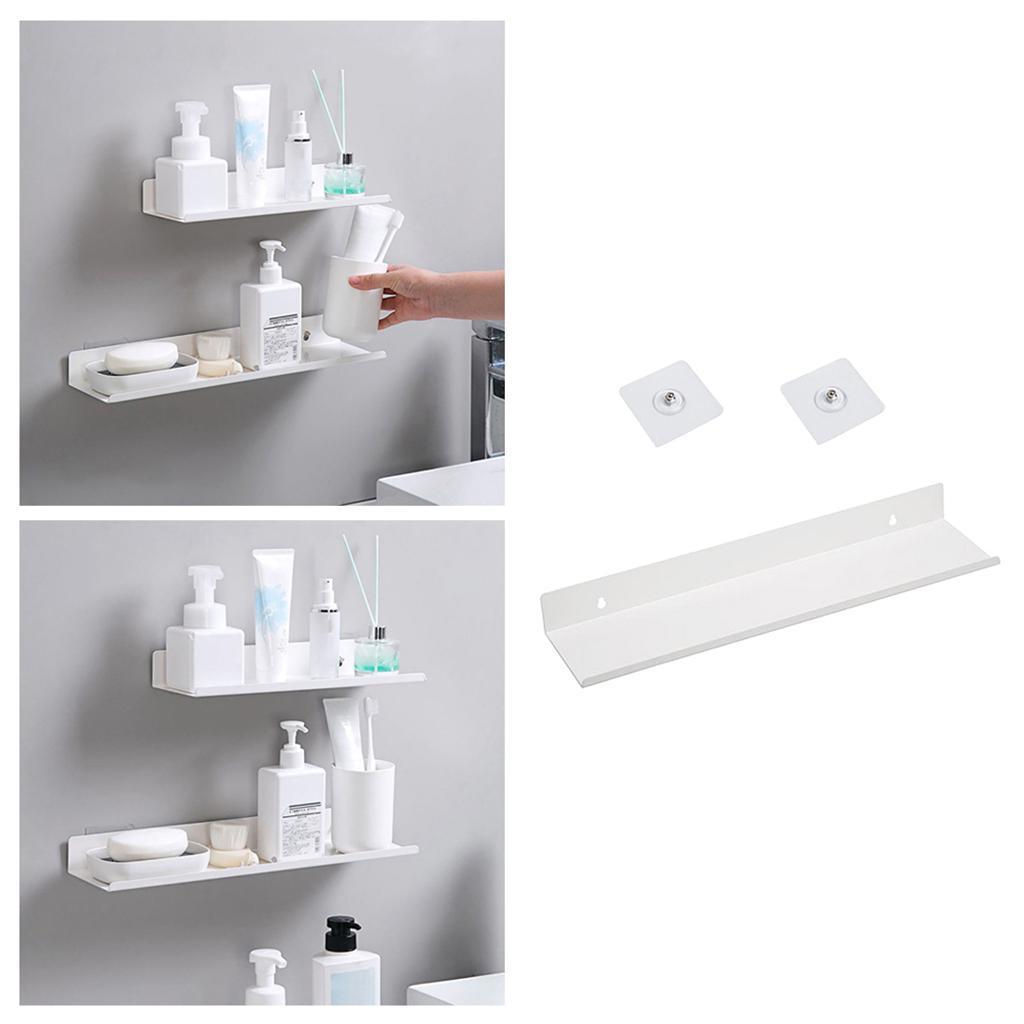 miniatura 67 - Durevole In Acciaio Al Carbonio Mensola Mobile Rack per la Casa