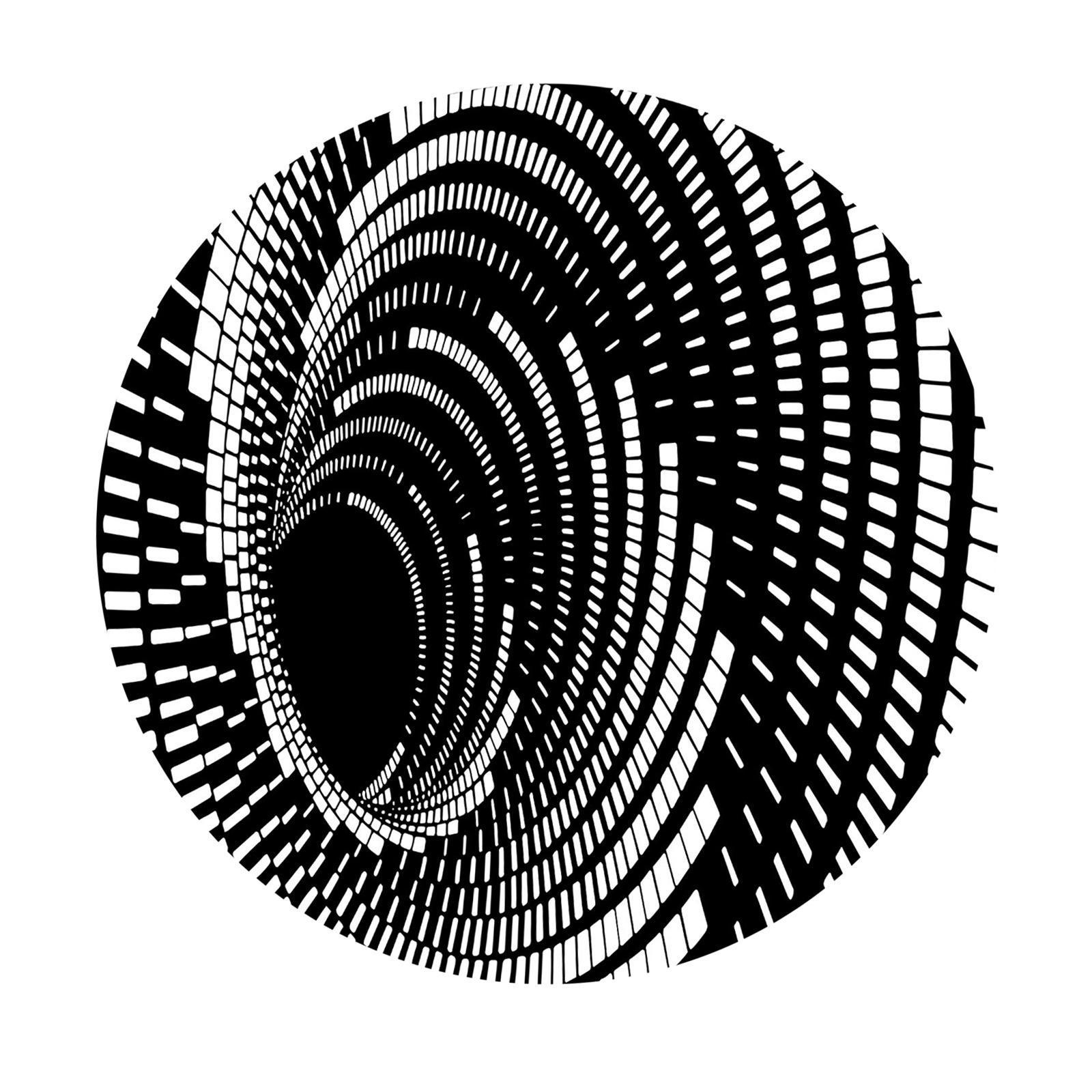 miniatura 12 - Tappetino-per-tappetino-antiscivolo-con-motivo-a-vortice-rotondo-3D