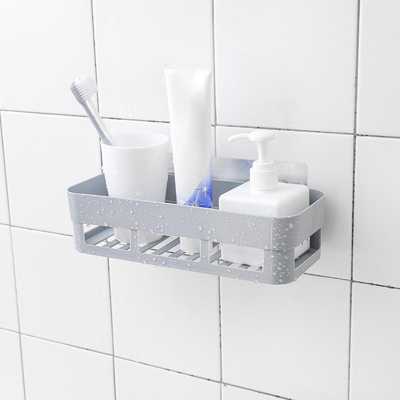 thumbnail 19 - Wall-Suction-Bathroom-Shelf-Shower-Caddy-Wall-Mount-Storage-Rack-Organizer