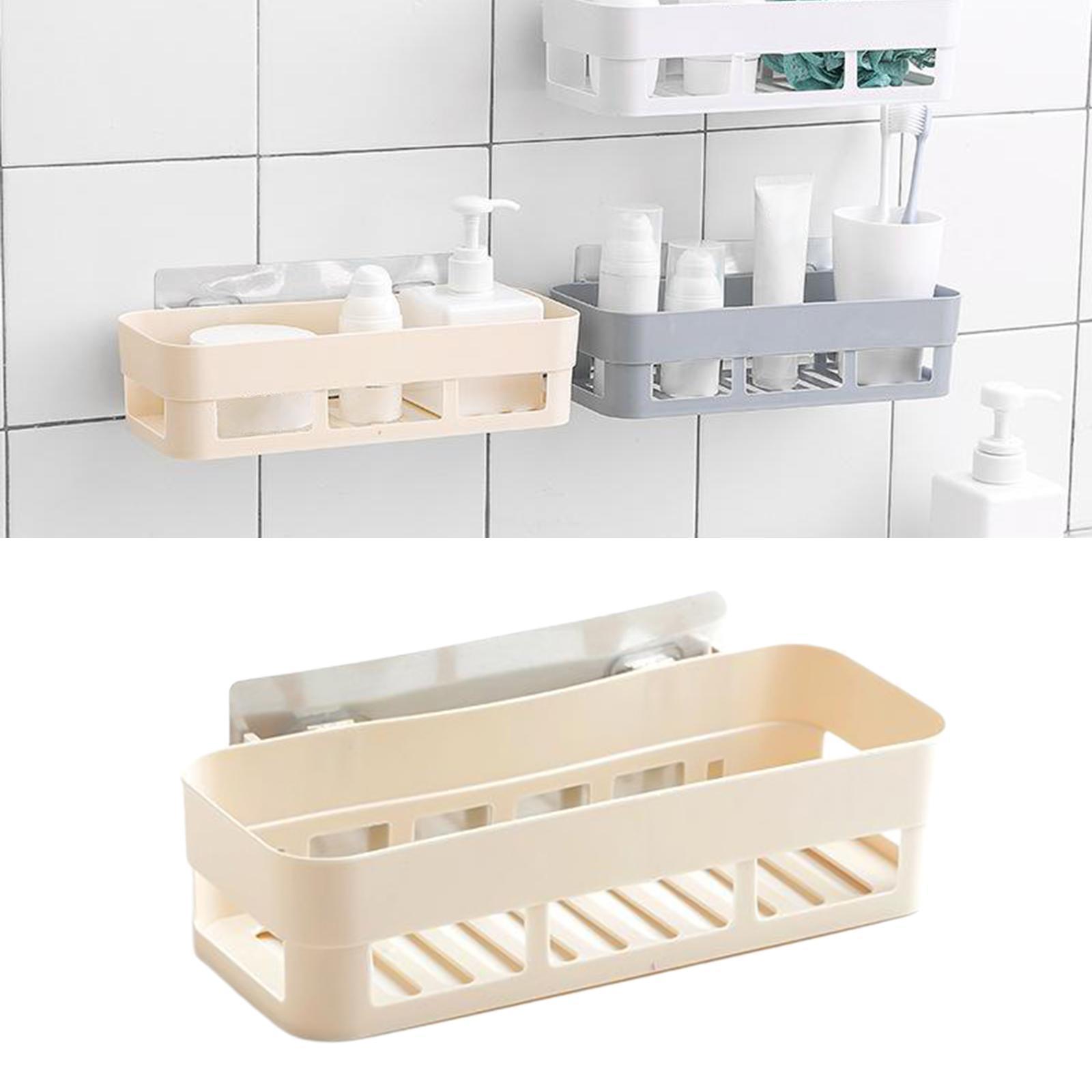 thumbnail 23 - Wall-Suction-Bathroom-Shelf-Shower-Caddy-Wall-Mount-Storage-Rack-Organizer