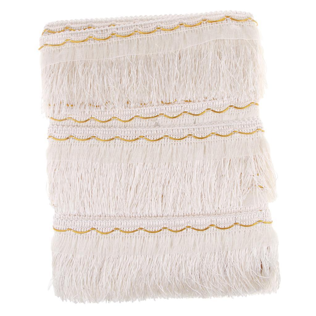 miniatura 16 - 1 rotolo di poliestere bordo nappa tappezzeria treccia trim tessuti per la casa