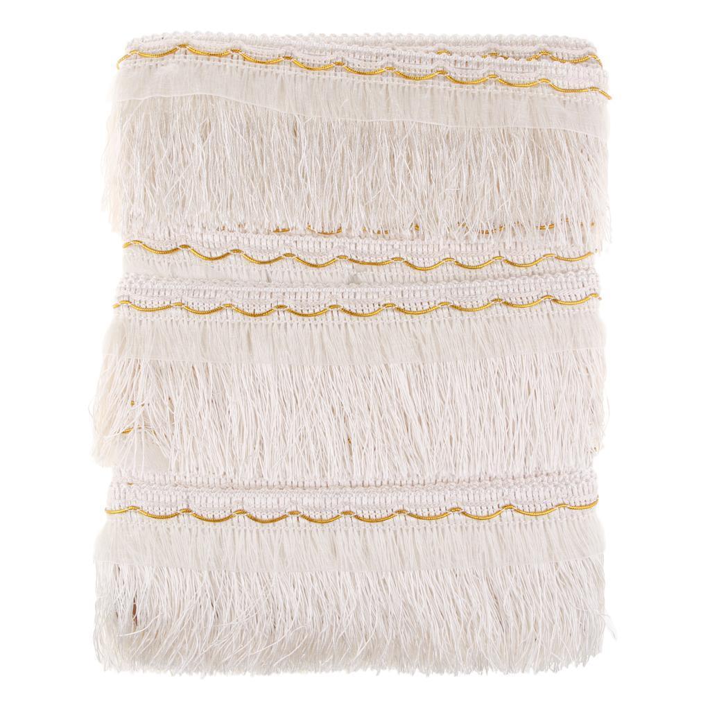 miniatura 15 - 1 rotolo di poliestere bordo nappa tappezzeria treccia trim tessuti per la casa