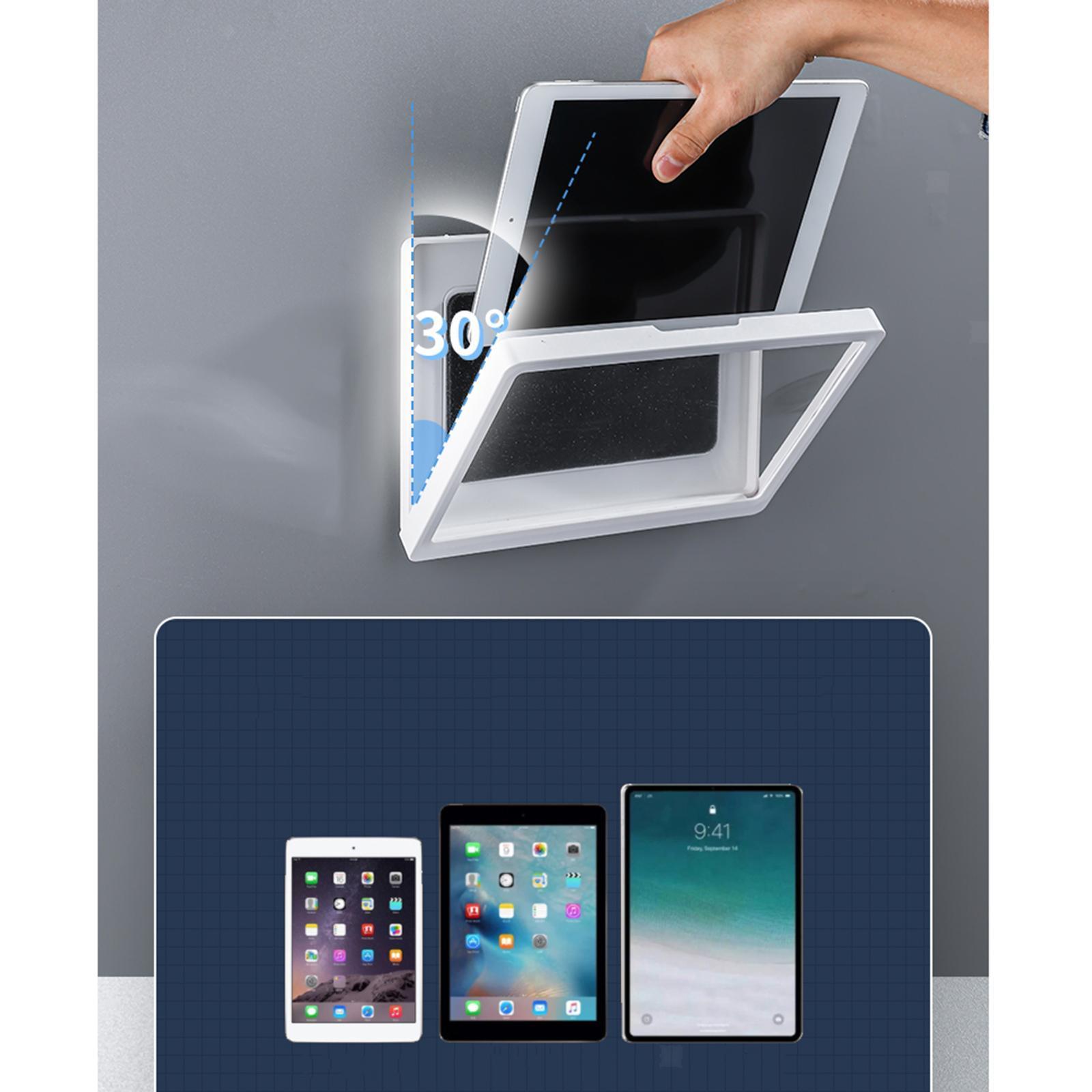 Indexbild 7 - Wand halterung Dusche Tablet Halter Badezimmer gehäuse Halterung Regal, Tablet