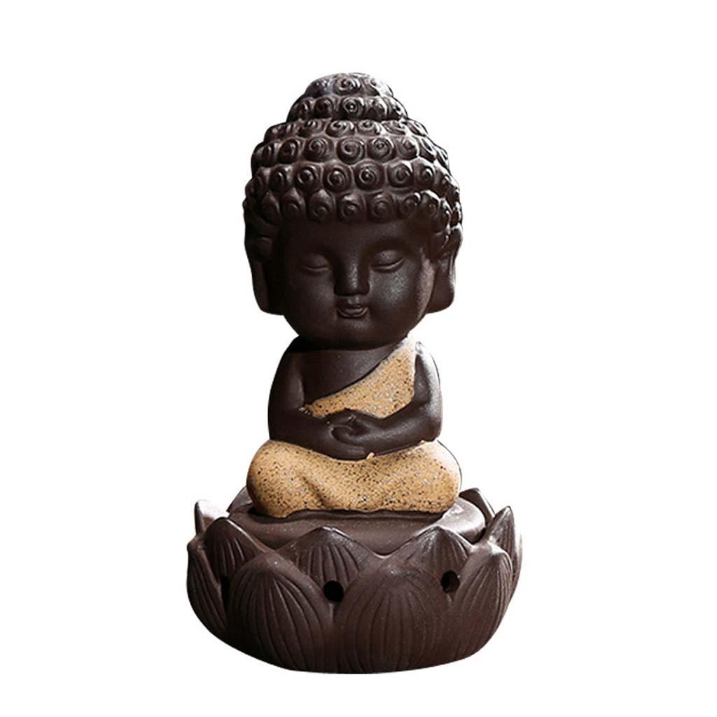 Buddhismus-Moenche-Raeuchergefaess-Keramik-Stick-Kegel-Halter-Rueckfluss Indexbild 3
