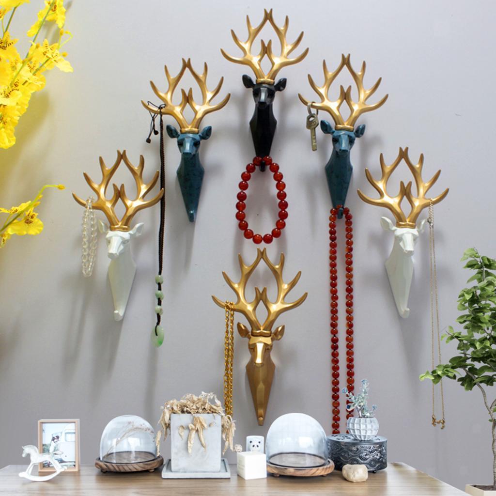 Chiave-cappello-Robes-Asciugamano-Ganci-Appendiabiti-A-Muro-Grucce-per-Badroom-e miniatura 20