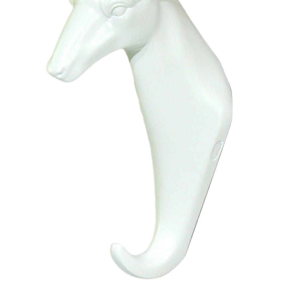 Casa-Decorativo-Scultura-A-Parete-di-Testa-di-Animale-Gancio-Mestiere-Della miniatura 46