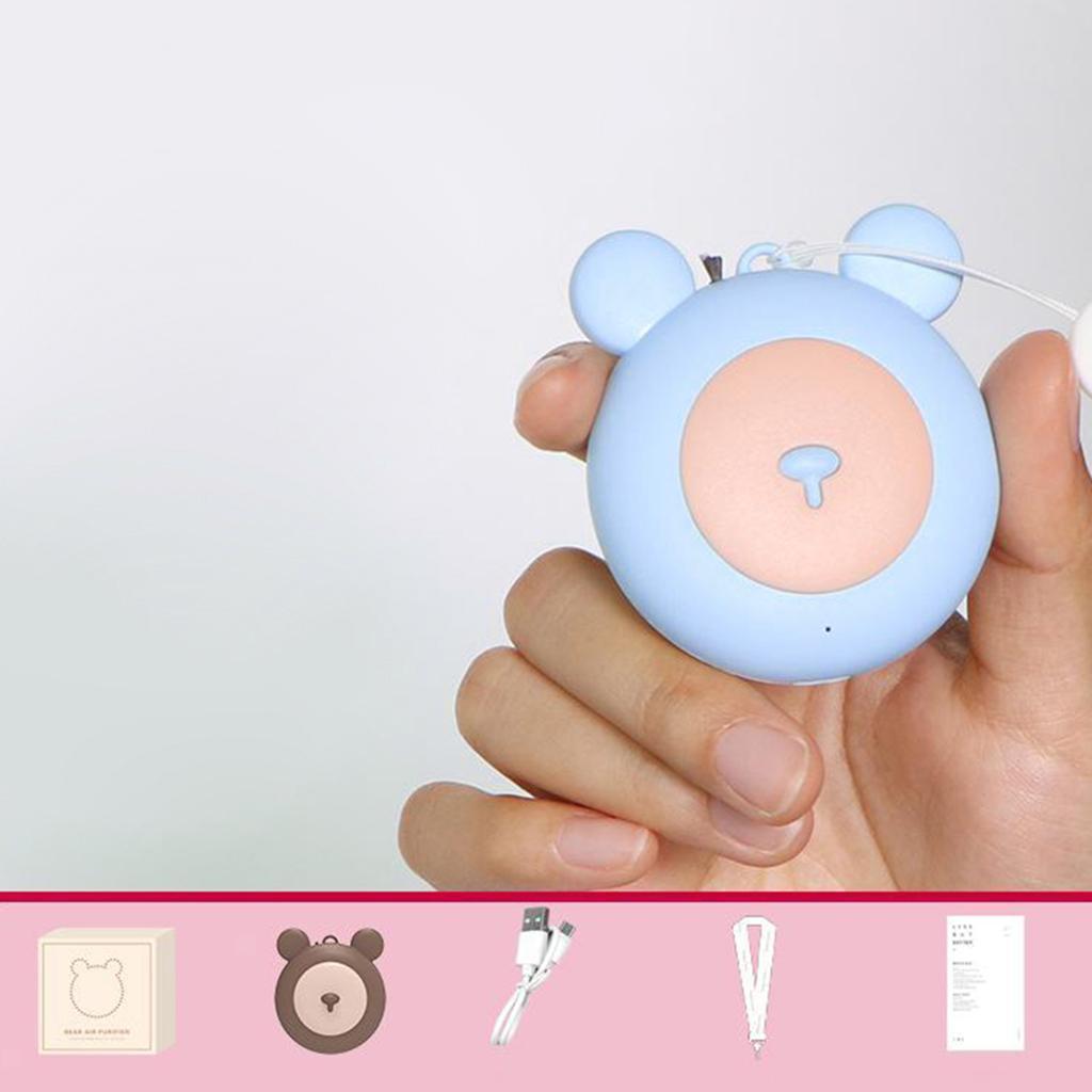 Indexbild 4 - Wiederaufladbare Travel Air Purifier USB Tragbare Hals Hängen Tragbare