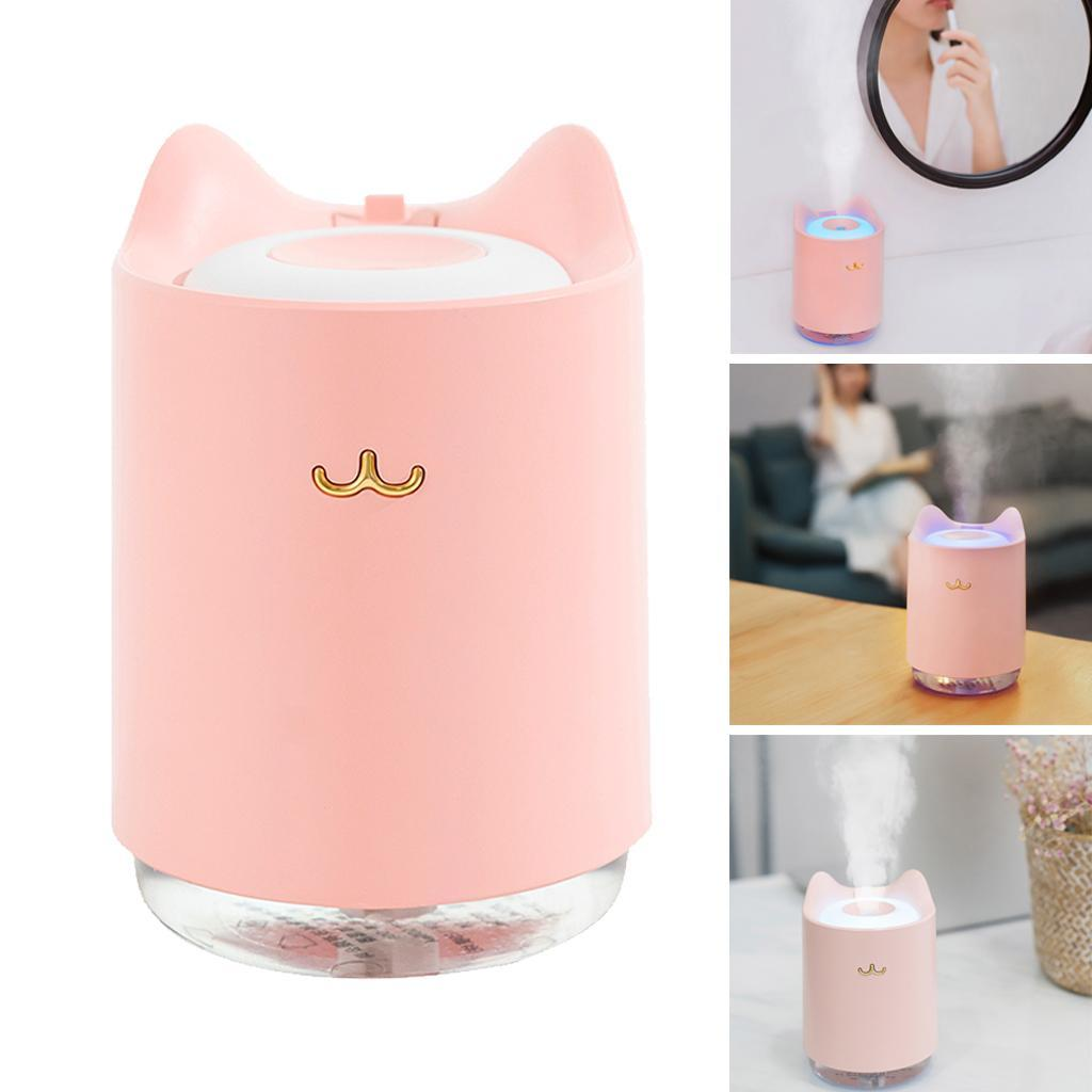 usb portable mini humidifier with night light function for