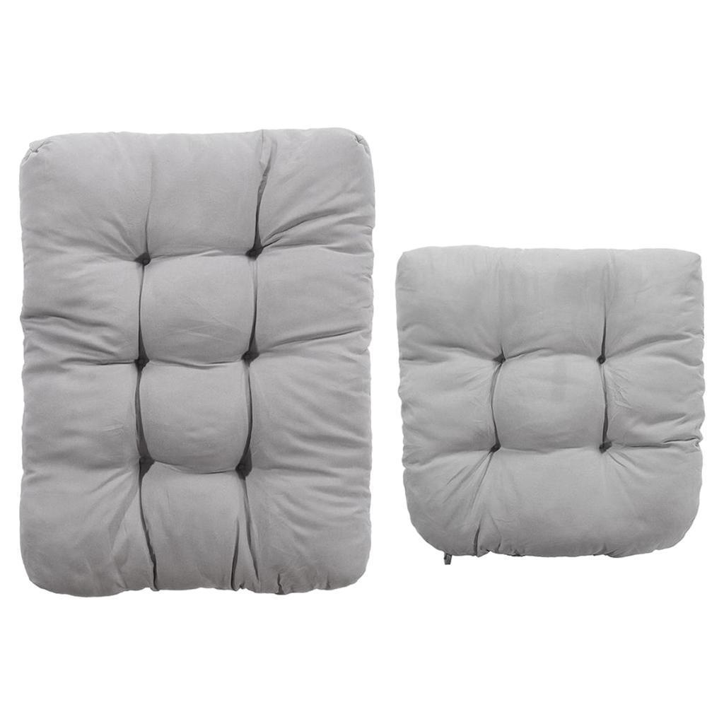 miniature 34 - Ensemble de coussins de chaise berçante inclinable avec attaches Jardin