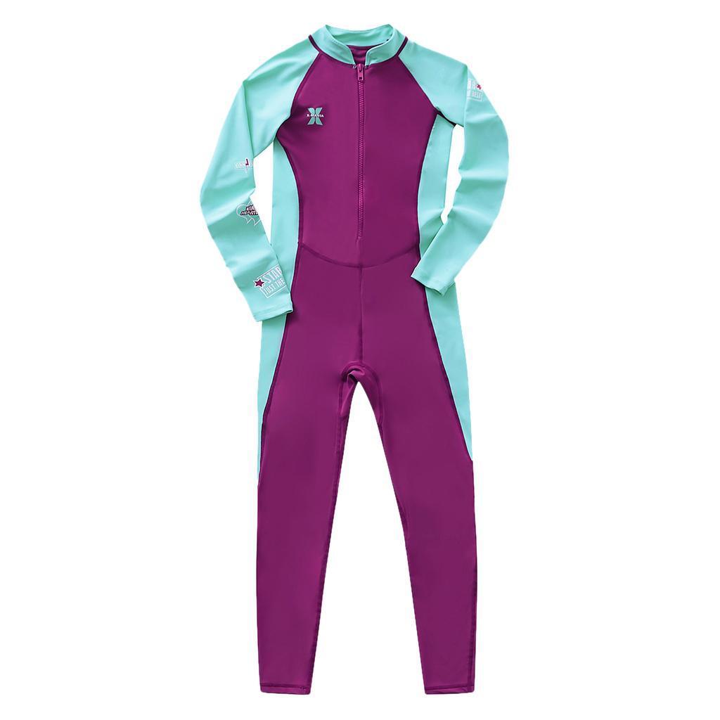 thumbnail 10 - Kids Wetsuit Full Body Swimsuit 2.5mm Neoprene Wetsuit UV Protective Quick Dry