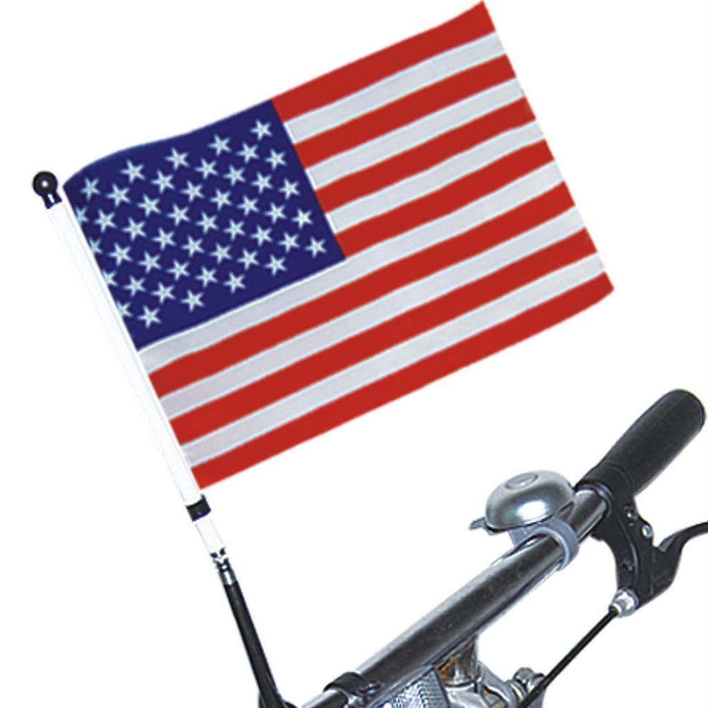 14x21cm kinder lenker flagge fahrrad radfahren sicherheit