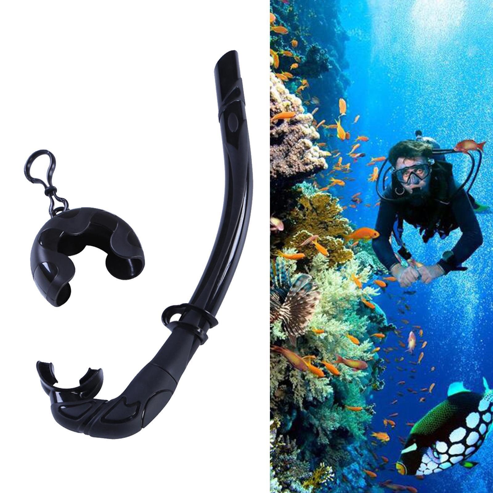 Indexbild 7 - Premium Wet Snorkel Women Men Adults Snorkels Breathing Tube Breath Tube