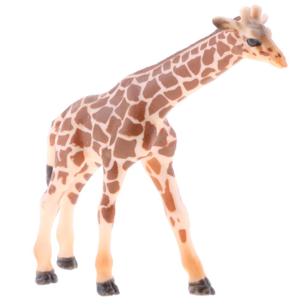 Realistico-Selvaggio-Farm-Natura-Animale-Albero-Modello-Azione-Figure-Kid miniatura 80