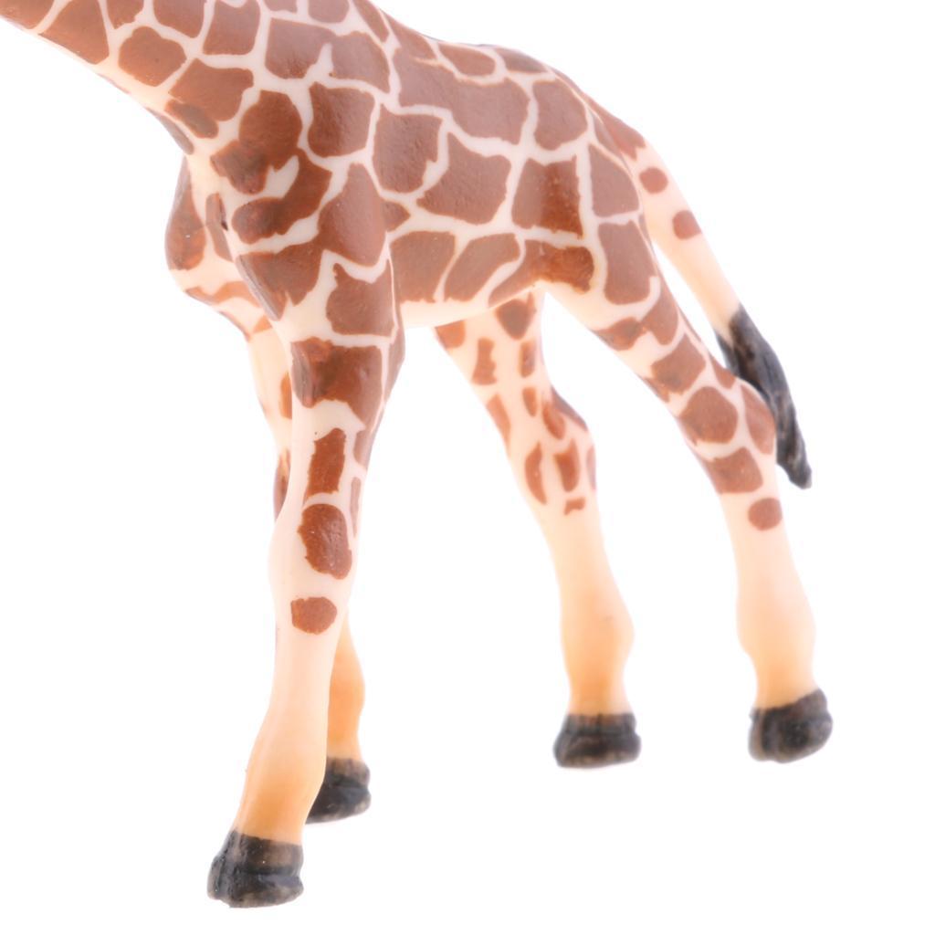 Realistico-Selvaggio-Farm-Natura-Animale-Albero-Modello-Azione-Figure-Kid miniatura 83