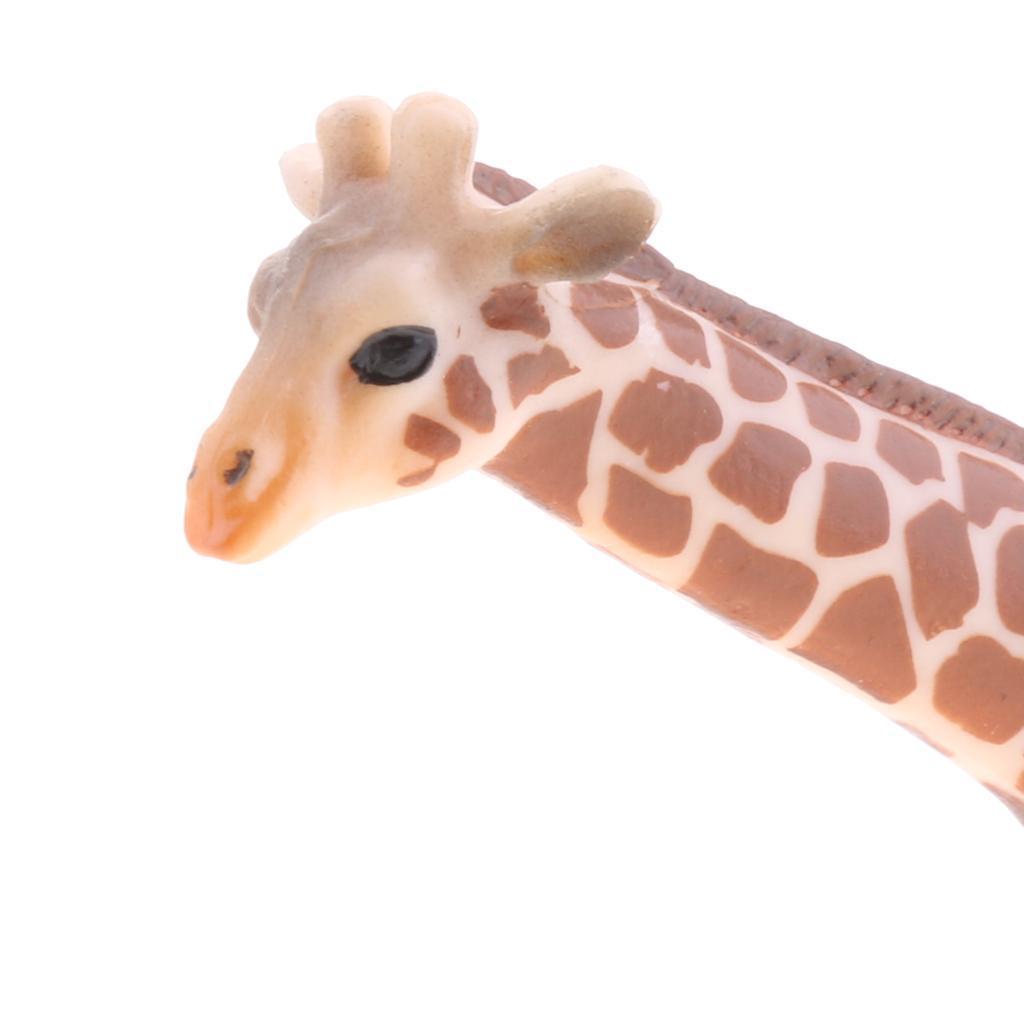 Realistico-Selvaggio-Farm-Natura-Animale-Albero-Modello-Azione-Figure-Kid miniatura 84