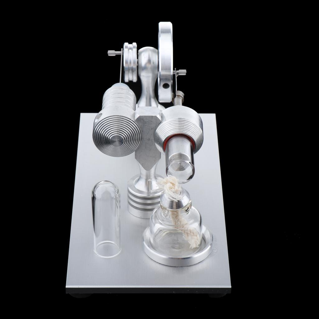 Mini-Stirling-Engine-Heat-Energy-Electric-Energy-Conversion-Lab-Supply miniature 8