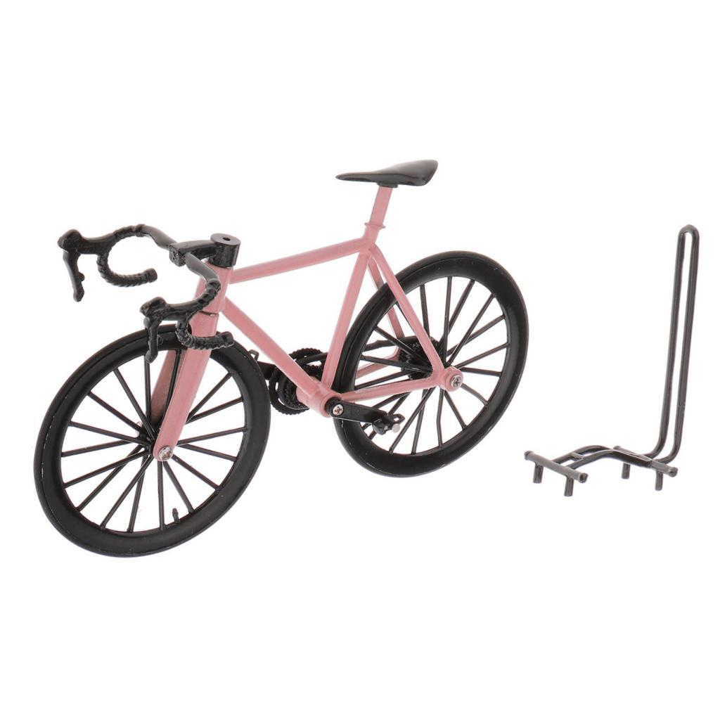 1:14 Scale Diecast Action Racing Bike Model Mini Road Cycling Bicycle Home Decor