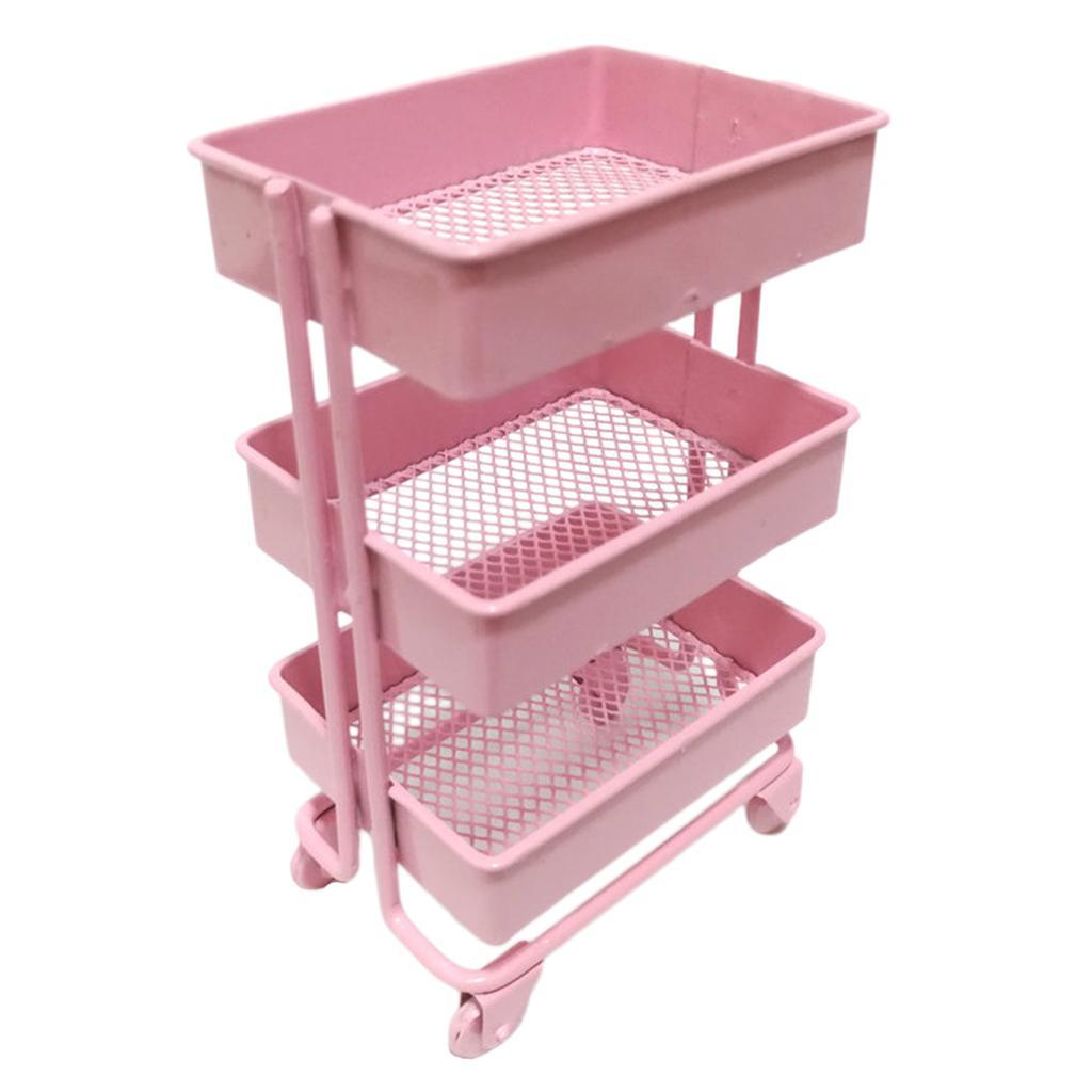 thumbnail 4 - Modern 1:12 Scale Mini Storage Shelf Rack Dollhouse Furniture Decor Accs