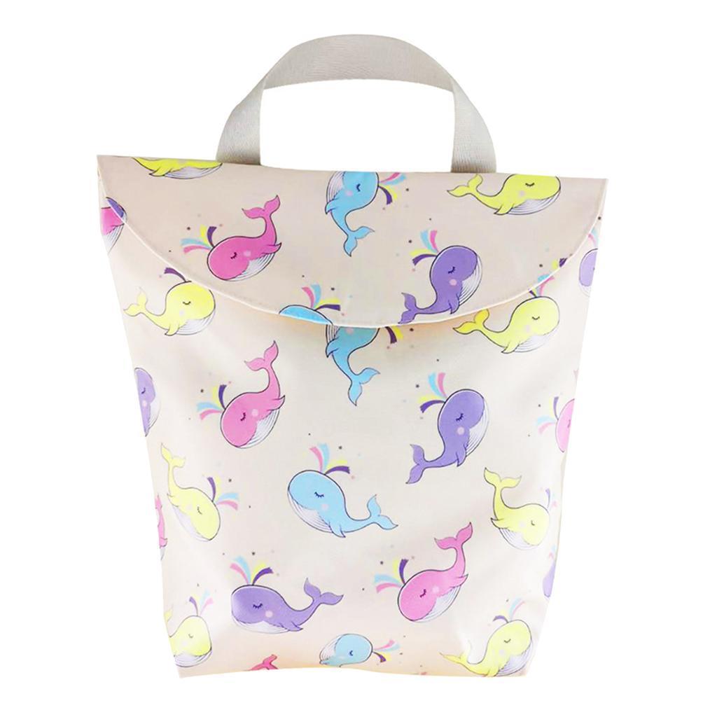 Baby-Diaper-Bag-Organizer-Fashion-Prints-Mummy-Storage-Bag-Outdoor-Reusable miniature 48