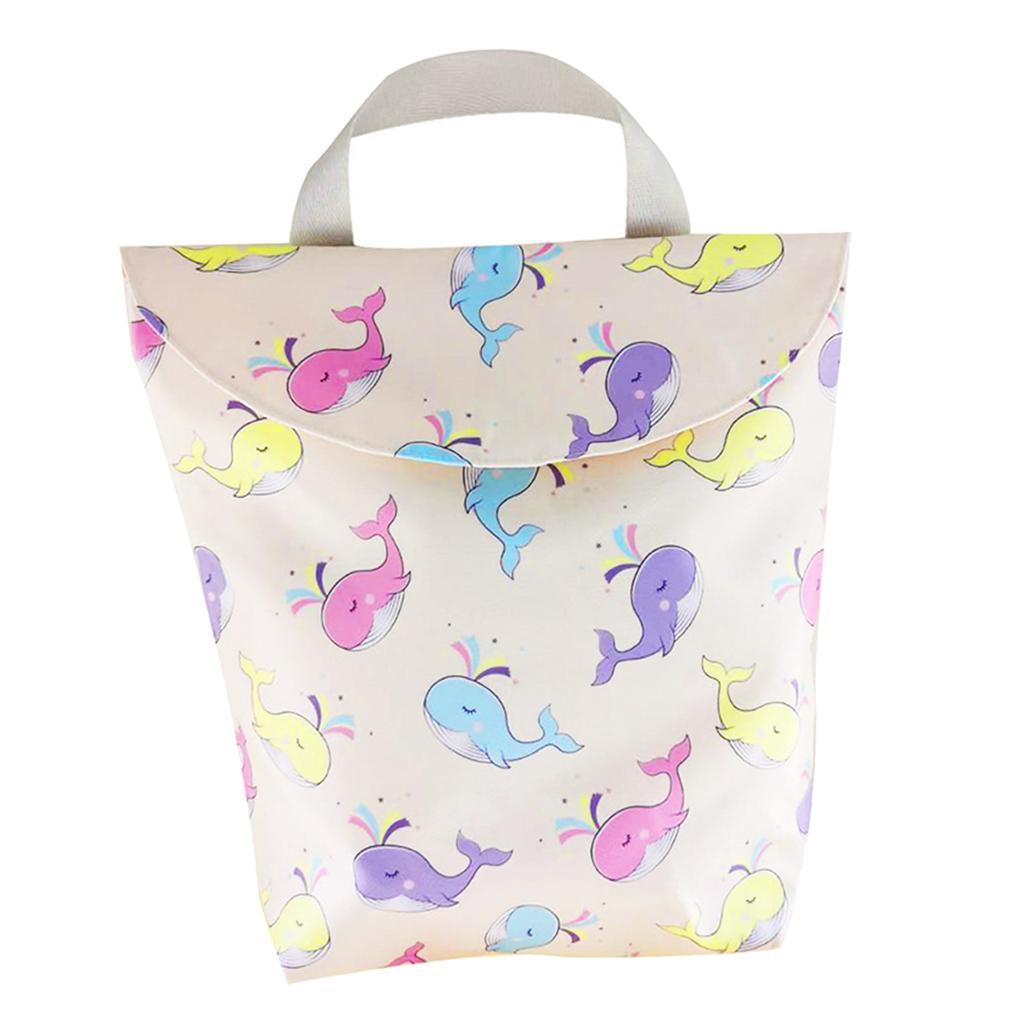 Baby-Diaper-Bag-Organizer-Fashion-Prints-Mummy-Storage-Bag-Outdoor-Reusable miniature 49