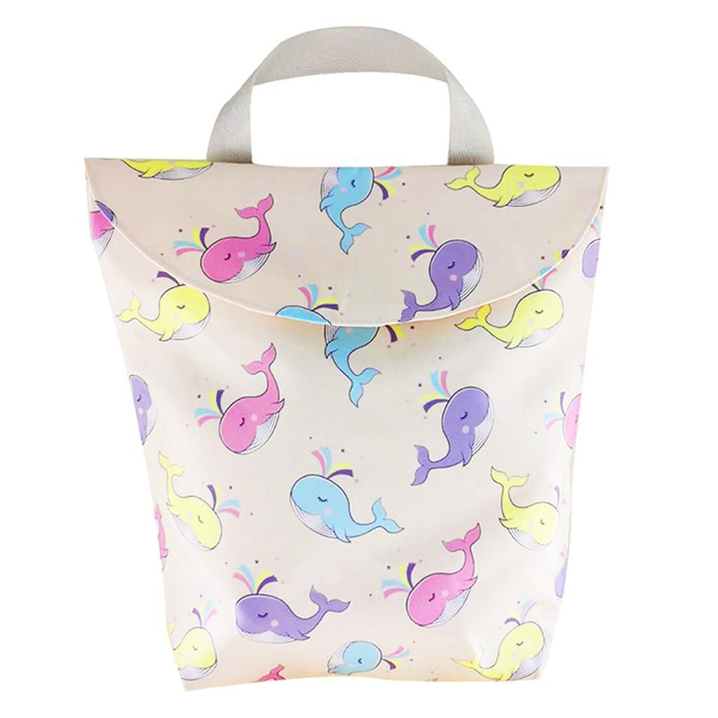 Baby-Diaper-Bag-Organizer-Fashion-Prints-Mummy-Storage-Bag-Outdoor-Reusable miniature 51