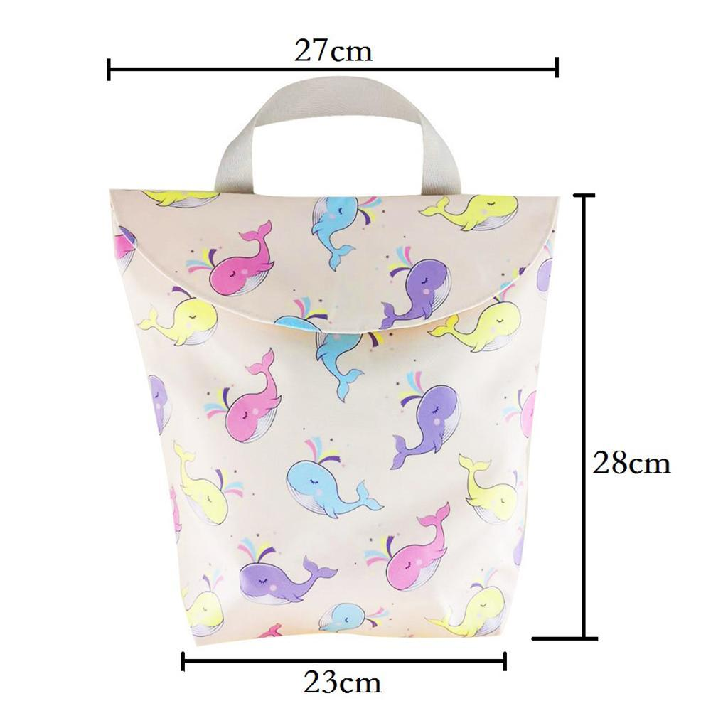 Baby-Diaper-Bag-Organizer-Fashion-Prints-Mummy-Storage-Bag-Outdoor-Reusable miniature 53