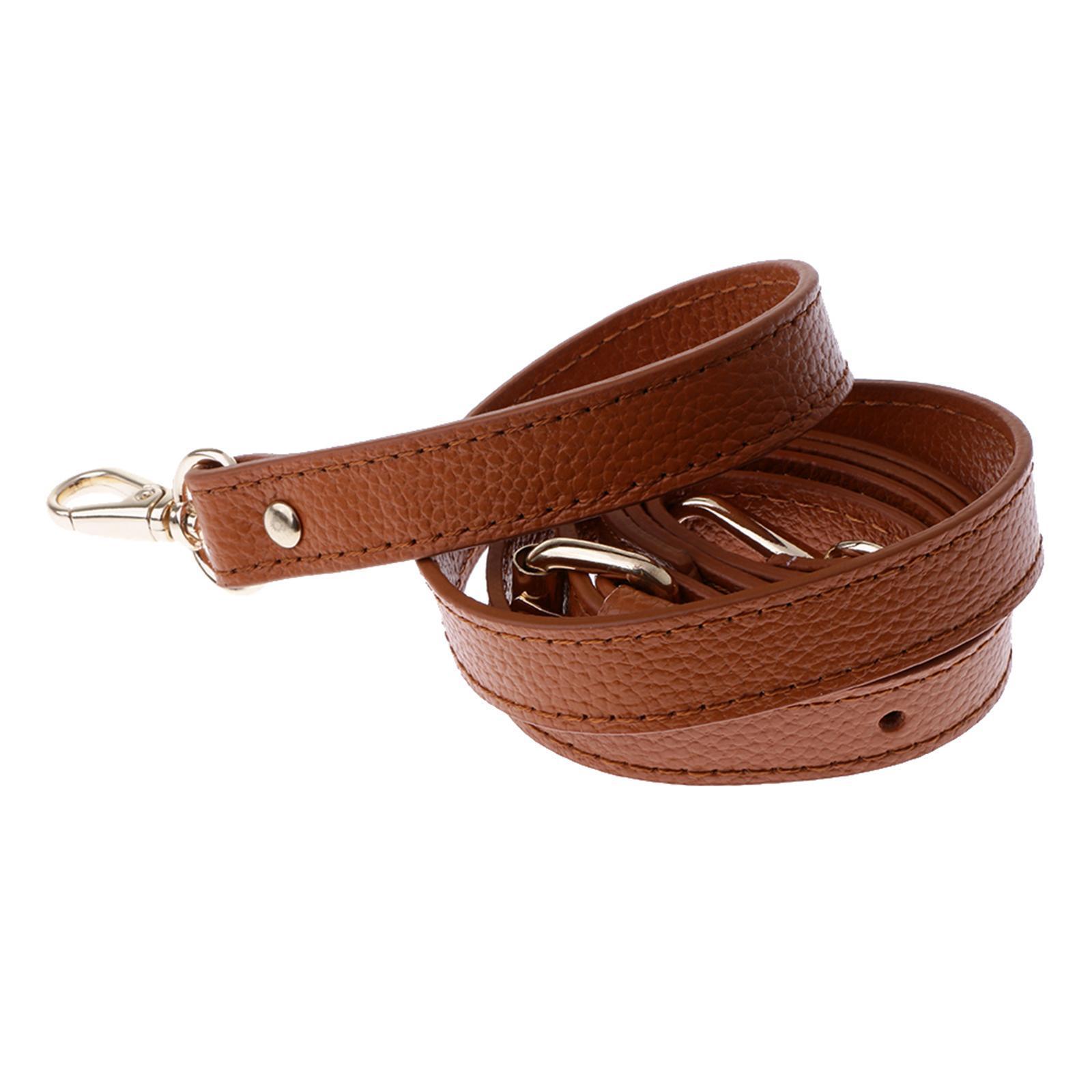miniature 10 - Replacement Leather DIY Adjustable Long Shoulder Strap Crossbody Purse